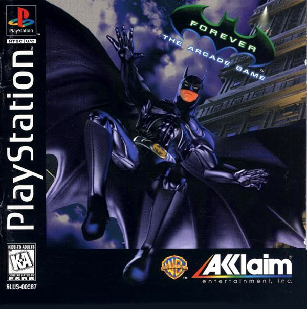 Batman Forever - The Arcade Game [U] Front Cover